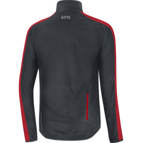 GORE WEAR C3 Gore Windstopper Jacket Men black/red